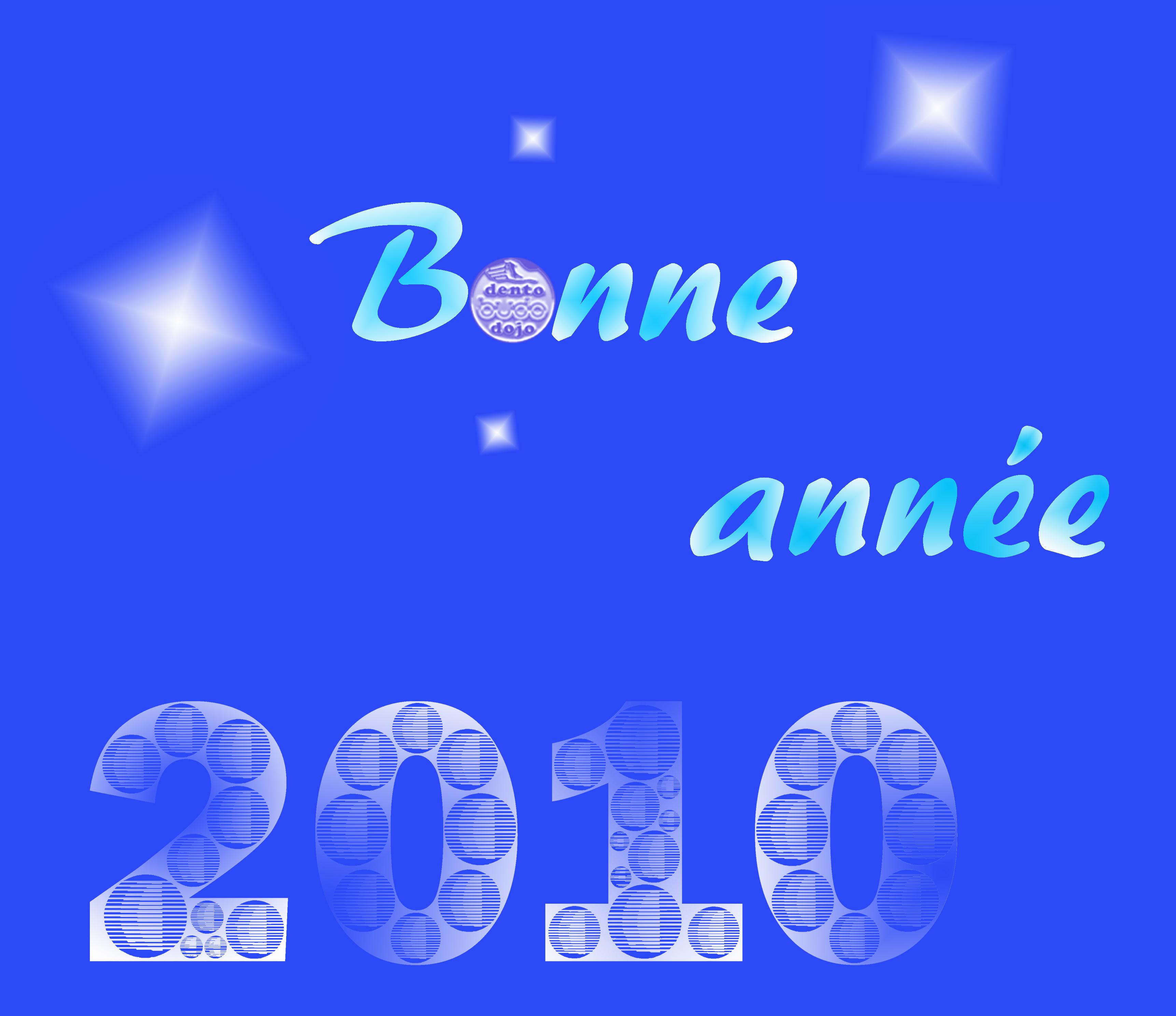 Nos meilleurs vœux pour l'année 2010.