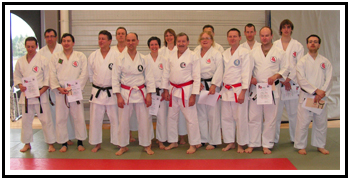 Propotion 2010 pour les ceintures noires.