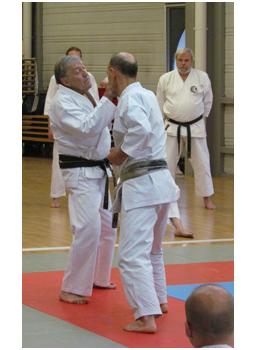 O-Sensei Roland Habersetzer et Jacques Faieff.