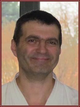 Michel COURTEHOUTE, reçu pour la ceinture noire. BRAVO Michel