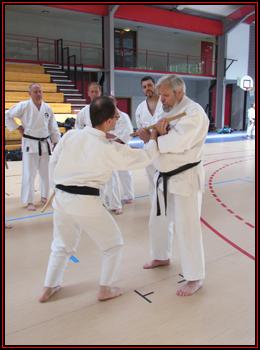 Moreno et Helmut avec le Tambo