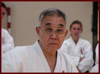 sensei Tadahiko OHTSUKA, lors de sa venue en septembre 2007 en Alsace.