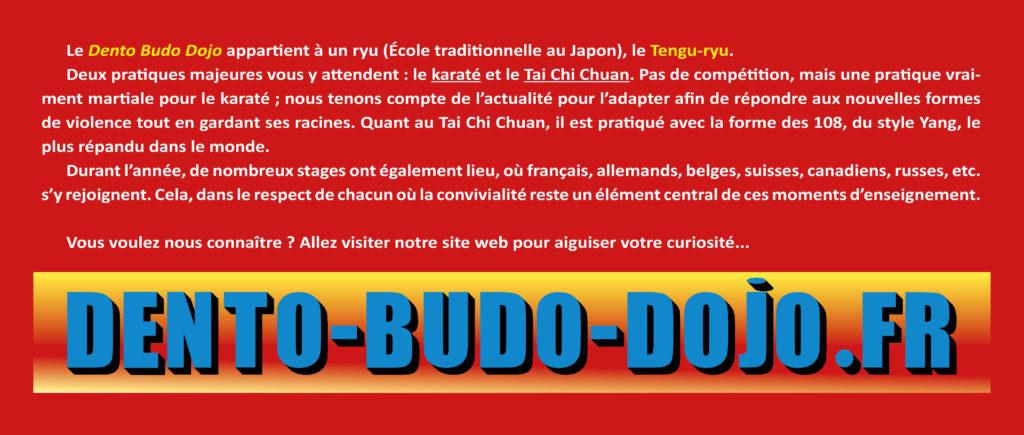 Présentation courte du Dento Budo Dojo